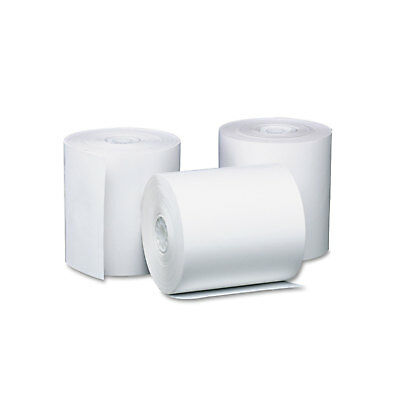 """Pm Company Preprinted Single Ply Thermal Cash Register/POS Roll 3 1/8"""" x 230 ft"""