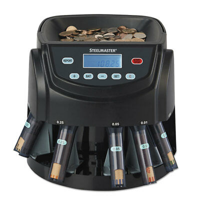 SteelMaster Coin Counter/Sorter Pennies through Dollar Coins 200200C