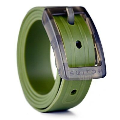 Switch Belt - Cut To Size - One Size Fits Most - Golf/Ski/Skate (Green Beret)