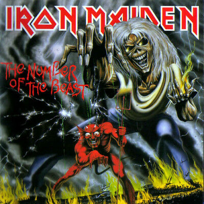 Number Of The Beast - Iron Maiden 881034112514 (Vinyl Used Like New)