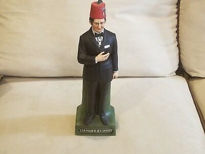 Vintage 1970s McCormick I Am Proud To Be A Shriner Decanter