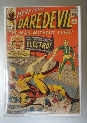 Daredevil #2 (1964 Marvel ) 2nd Electro appearance Silver Age Stan Lee