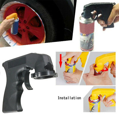 Aerosol Spray Paint Applicator Tin Can Handle with Grip Trigger For Painting