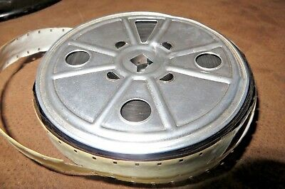 16mm Home Movie Film Reel, Early Faded Color, Unknown Content Travel Family Mix