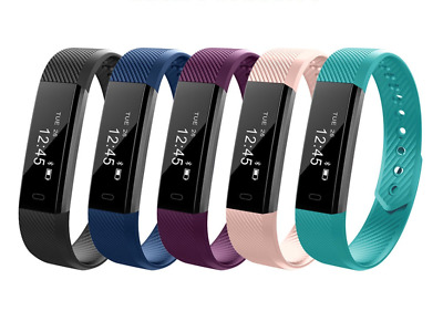 Bluetooth Waterproof Activity Tracker Smart Fitness Pedometer Fitbit style Band