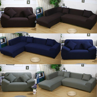 Elastic Sofa Cover 2 3 4 Seat Stretch Slipcover Couch Chair Furniture Protector