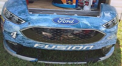 2017 Kevin Harvick #4 SHR Busch Beer Nascar Race Used Sheetmetal Nose