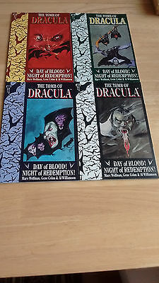 The Tomb Of Dracula - Volume - Book- 1 - 2 - 3 - 4 -Graphic Novel - Marv Wolfman