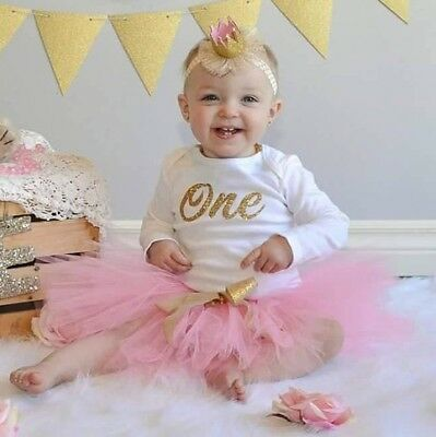 1st Birthday bodysuit. Gold glitter - Personalized Name/Age - Birthday T-Shirt