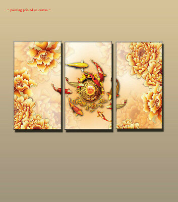 ASIAN TWO KOI Fish Happiness Art Poster Print Wall Decor - $16.00 ...