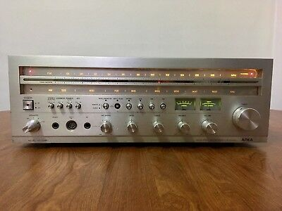 Aiwa AX-7500 Hi-Fi Vintage Stereo Receiver Tested/Works