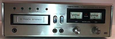Vintage Realistic 8-Track Stereo Record Deck (TR-884)