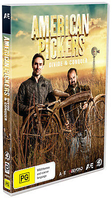 BRAND NEW American Pickers - Divide & Conquer (DVD, 2017, 4-Disc Set) Col 17