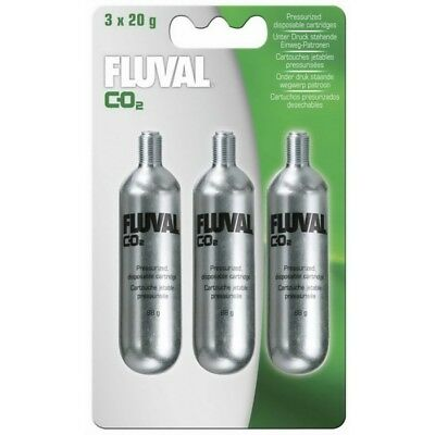 Fluval Mini CO2 Cartridge X 3 Replacement Pack