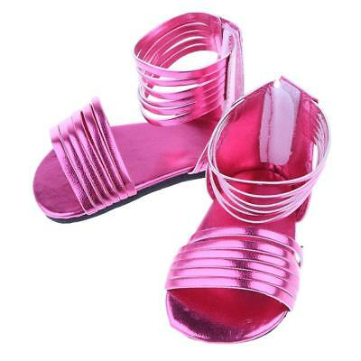 Doll Shoes Sandals for 18'' American Girl Doll Summer Clothes Dress Up Accs