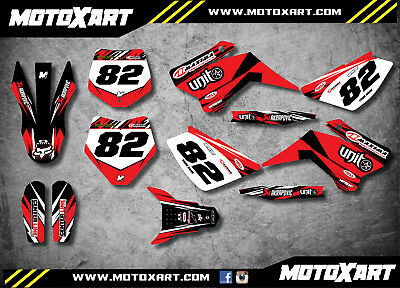 YCF 125 custom graphics kit DIGGER style / decals / stickers