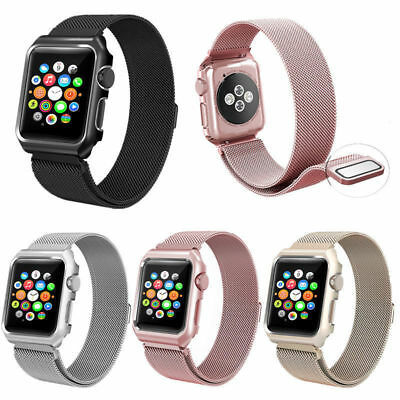 Milanese Loop Watch Strap For Apple Watch Band 42mm 38mm Link Bracelet iWatch