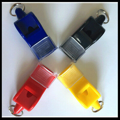 EDC fox40 Plastic Football Basketball Soccer Sports Referee Whistle