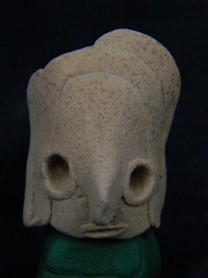 Ancient Indus Valley C.2500 BC Teracotta Head   ###R670###