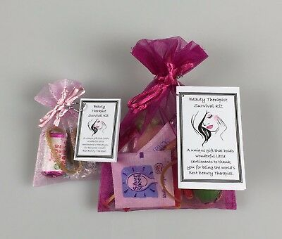Beauty Therapist Survival Kit (Novelty Work Colleague Thank you Christmas Gift)