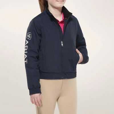 NEW! Ariat Youth Stable Team Jacket Navy Sizes M - XXL