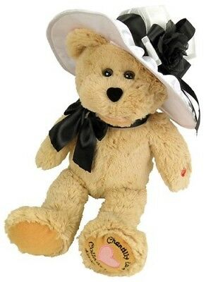 "Chantilly Lane 16"" Audrey Collector's Series Bear Sings ""When You Say Nothing At"