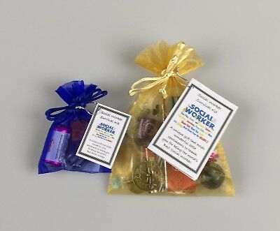 Social Worker Survival Kit  (Fun Novelty Work Colleague Thank you Christmas Gift