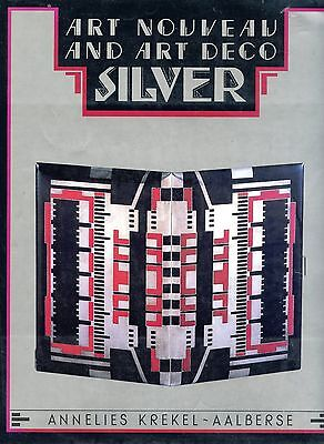 Antique Art Nouveau and Art Deco Silver - Types Origins / Scarce Book