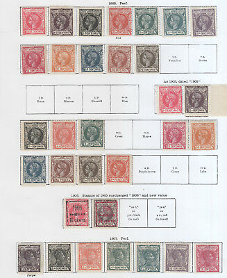 Spanish Colonies, Elobey,annobon & Corisco Mh Non 2 Pages