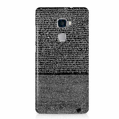 Egyptian Rosetta Stone Ancient Egypt Phone Case Cover Black Version