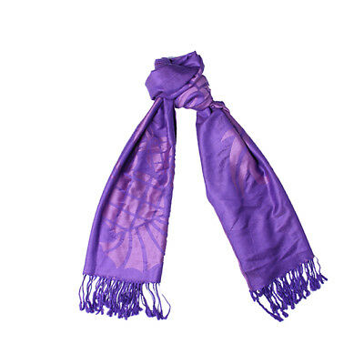 Celtic at Heart Large Double Sided Design BlueBell Blue Womens Jacquard Scarf