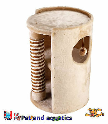 """Cat Scratching Post, Hide Out, Beige, 22.8"""""""