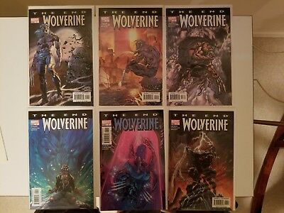 Wolverine: The End #1-6 full set (2004, Marvel) VF/NM