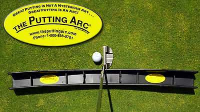 MS 3d PUTTING ARC Golf Entrenamiento