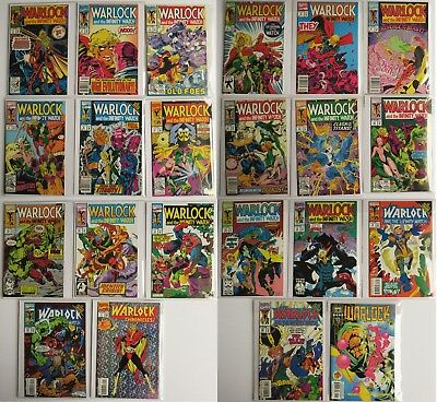 Warlock and Infinity Watch Vol. 1 - 20 + 2 more Marvel Comic Book Lot of 22 1992