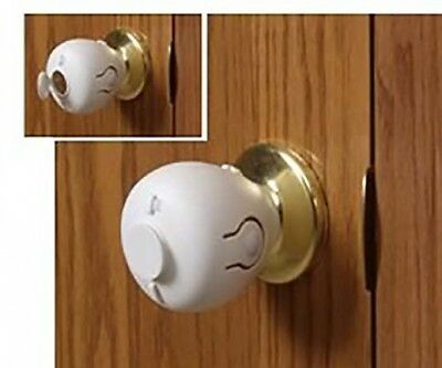 Door Knob Safety Cover Handled Child Proof Lock Brand New