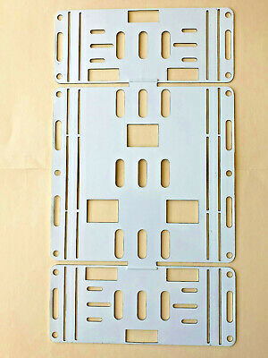 Retrofit Kit Conversion Plate for 8' 2 Bulb T12 Light Strip To T8 LED Fixture