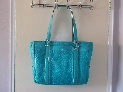 Vera Bradley Stroll Around Baby Bag -- Turquoise Seas