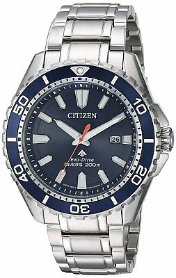 Citizen Eco-Drive Promaster Diver Stainless Steel Mens Watch BN0191-55L
