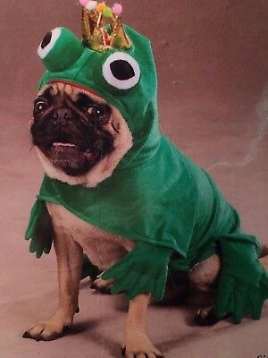 Zack & Zoey Prince Of Frogs Costume, Dog Costume