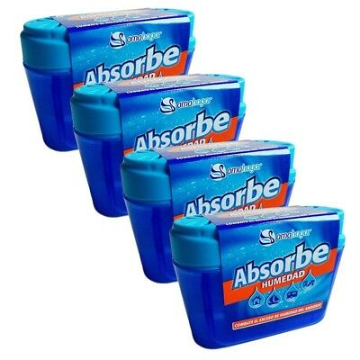 amahogar – Absorbs Moisture – 40 gr – Set of 4 – Made in Spain. Delivery is Free