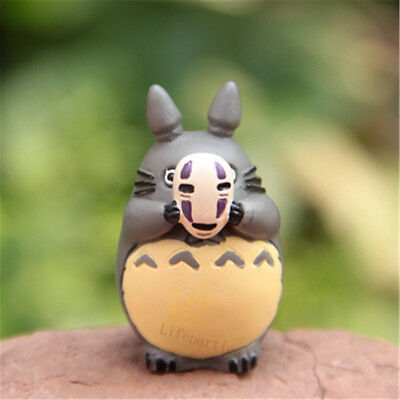 Studio Ghibli Anime My Neighbor Totoro No Face Man Mask Figure Statue Hot