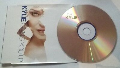 Kylie Minogue * Giving You Up * 2 Track Cd 2005 + Made Of Glass