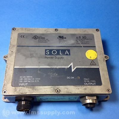 Sola Scp 100S24X-Dvn Power Supply Usip