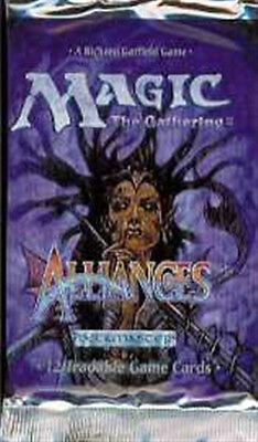 "Mtg Alliances Boosters 5 Count Lot Free Ship  ""prices Reduced"""
