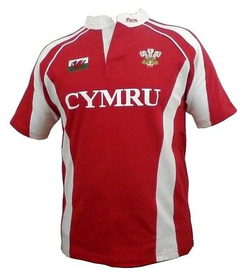 (3-4year/XSB) - Wales Welsh 'Hakka' Junior Rugby Shirt. Delivery is Free