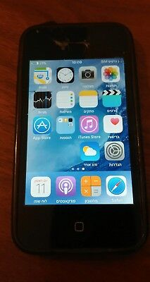 Iphone 4S Used 16GB Black Model A1387 Network Unlocked Used