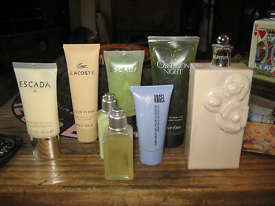 escada lacoste valentino ck obsession night angel l occitane body lotion joblot