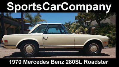 1970 Mercedes-Benz SL-Class  1970 MERCEDES BENZ 280SL ROADSTER RUST FREE 2 OWNER CALIFORNIA CAR Reduced $10k!