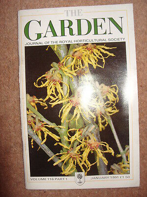 The Garden Journal of The Royal Horticultural Society Volume 116 January 1991